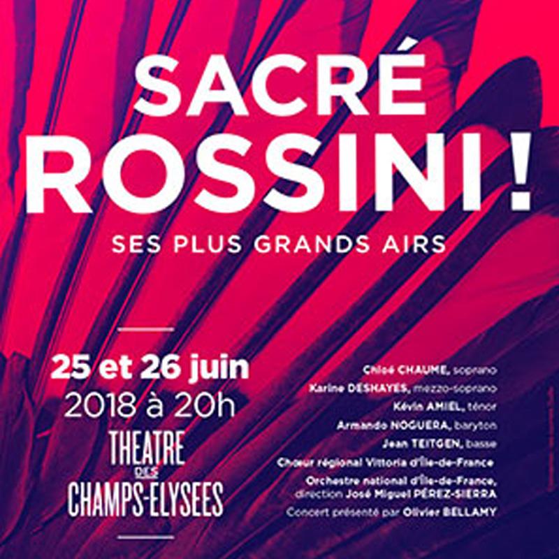 Sacré Rossini-Radio Classique Affiche