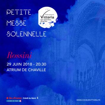 « PETITE MESSE » DE ROSSINI – CHAVILLE (92)