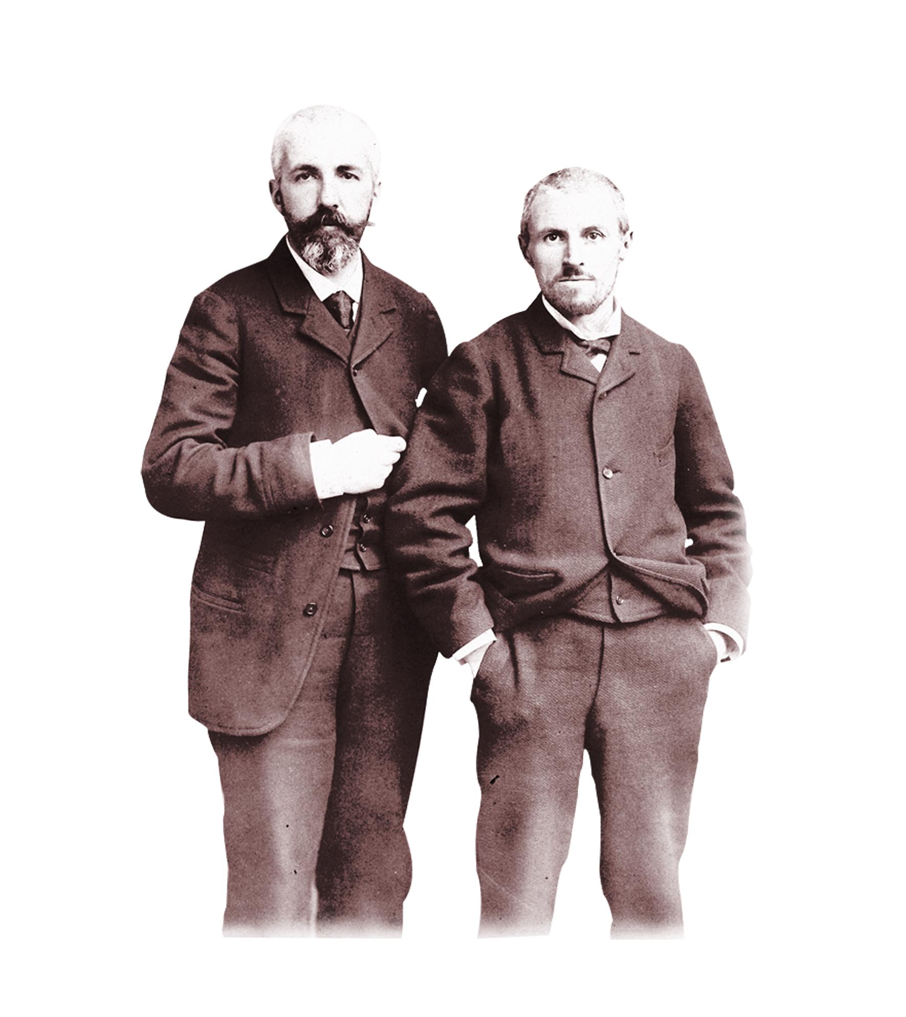 Gustave et Martial Caillebotte