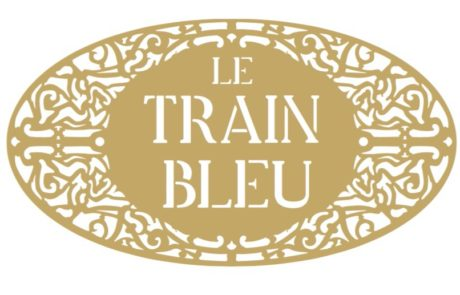 Flashmob a Gare de Lyon - logo Train Bleu