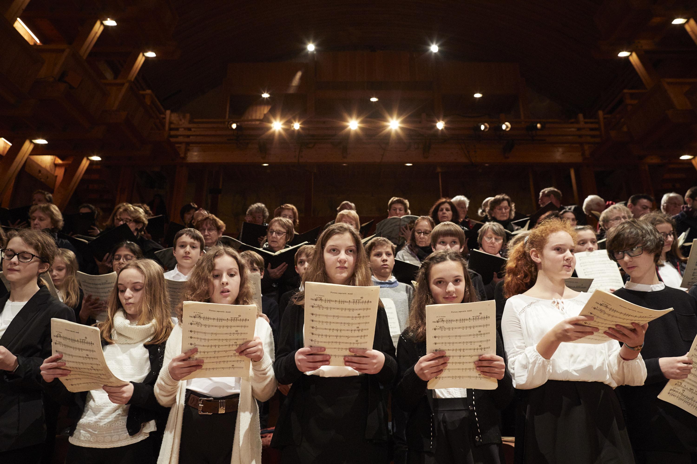 Le Choeur Vittoria et le collège Rameau de Versailles - 11