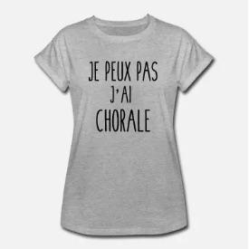 Tee-shirt chorale