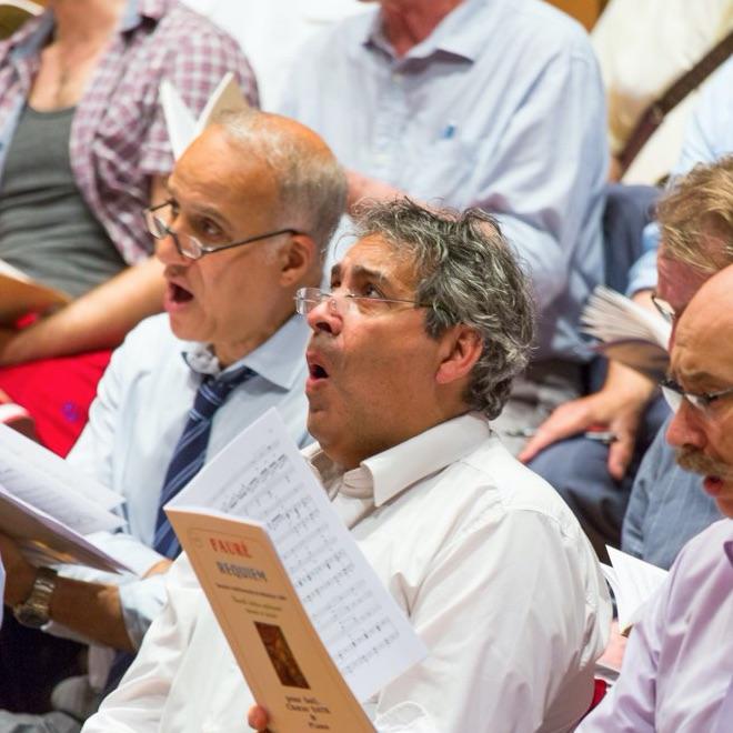 Chanter dans une chorale-Carré