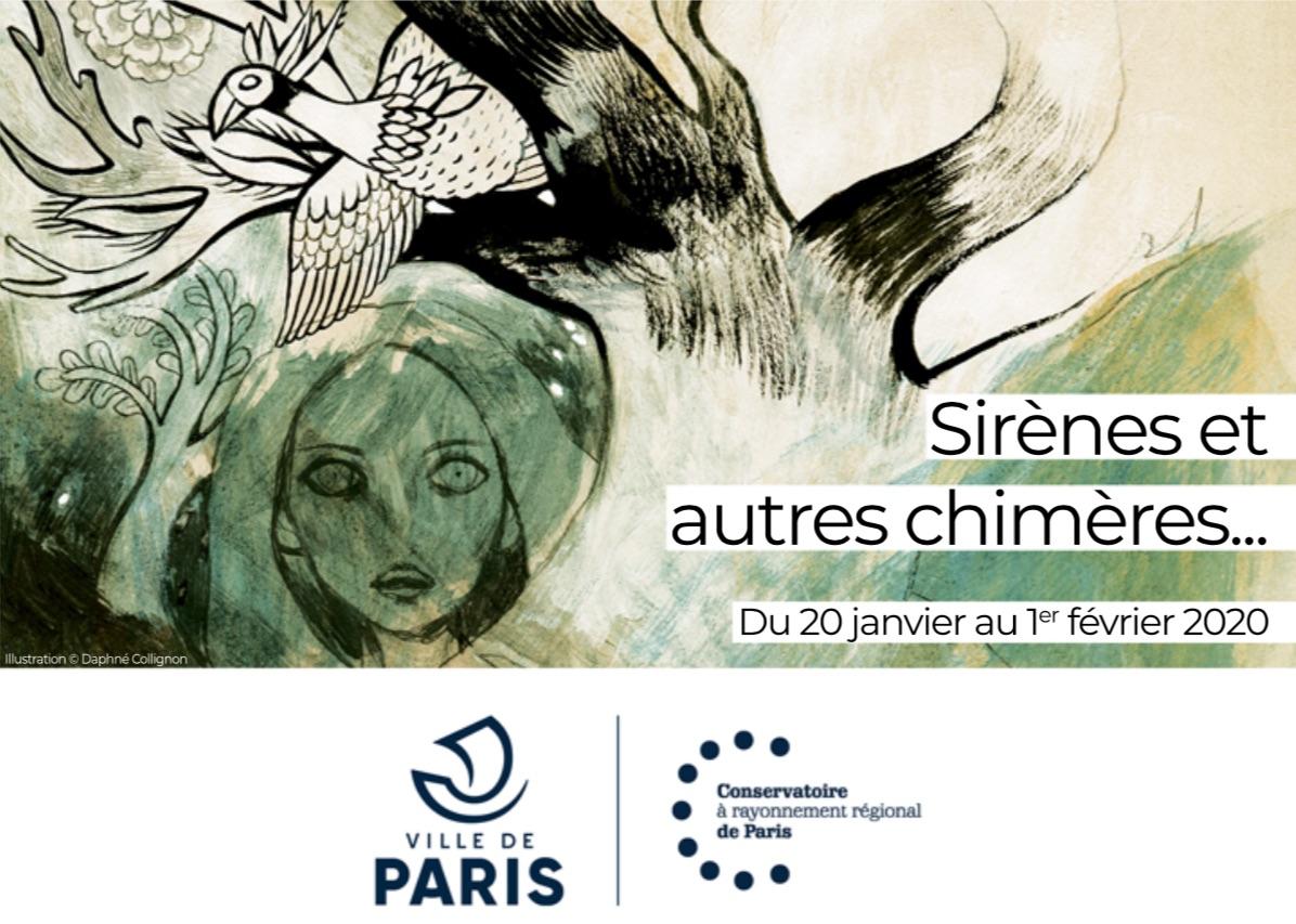 Festival conservatoire de Paris Sirenes - Chimères 1